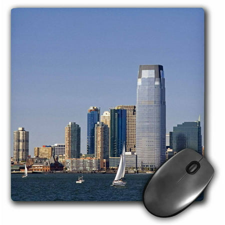 3Drose Goldman Sachs Tower In Jersey City  New Jersey   Us31 Dfr0003   David R  Frazier  Mouse Pad  8 By 8 Inches