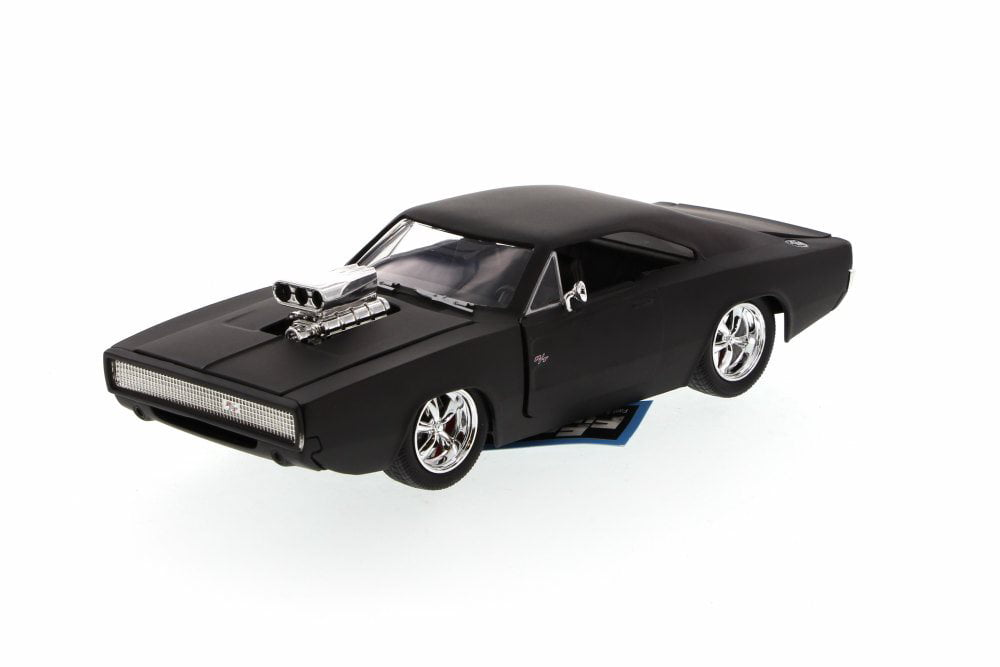 Dom's 1970 Dodge Charger R T, Matte Black Jada Toys Fast & Furious 97174 1 24 scale... by Jada