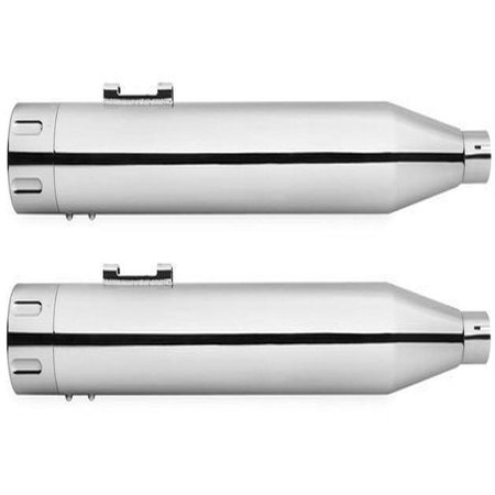 Freedom Performance Eagle Slip-On Mufflers Chrome #HD00373 Harley Davidson ()