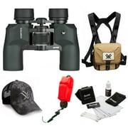 Vortex 8.5 x 32 Raptor Binocular   + Glasspak Harness Bundle