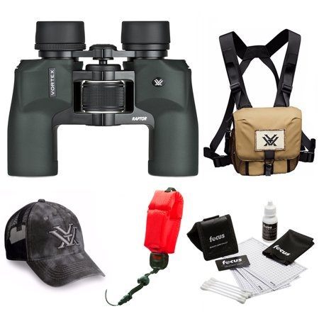 Vortex 8.5 x 32 Raptor Binocular   + Glasspak Harness