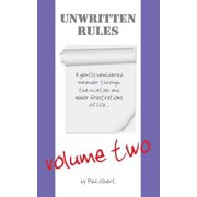 Unwritten Rules : Volume Two