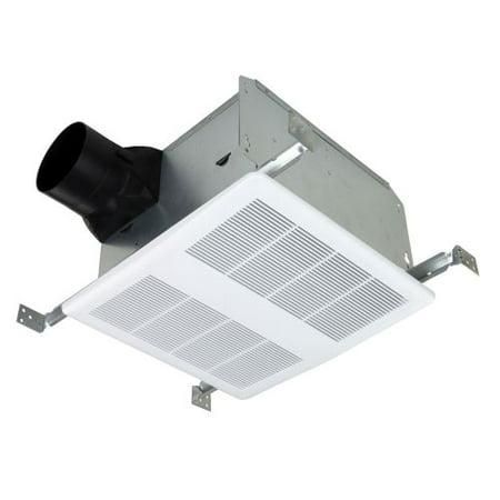 Quiet zone bathroom ventilation fan for Quiet bathroom exhaust fan light