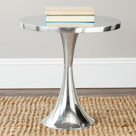 Safavieh Galium Aluminum Round Top Side -