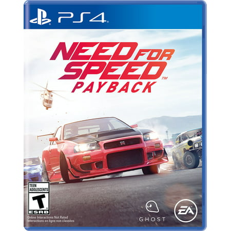 Need For Speed Payback  Electronic Arts  Playstation 4  014633735222