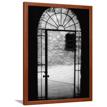 San Antonio Doorway Framed Print Wall Art By Kim Koza (Doorway Framed)