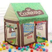 Boy Girl Pop Up Outdoor Indoor Cottage Children Tent Kids Play House Toy w / Two doors one window