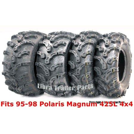 95-98 Polaris Magnum 425L 4x4 Full Set ATV tires 25x8-12 & 25x11-10 Premium (Federal Premium Magnum)