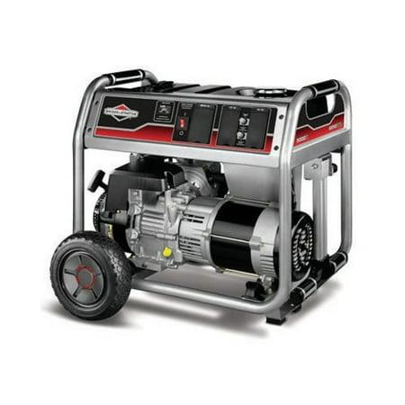 Briggs and Stratton 5000-Watt Gas Powered Portable Generator with 1650 Series 342cc Engine and Power Surge Alternator