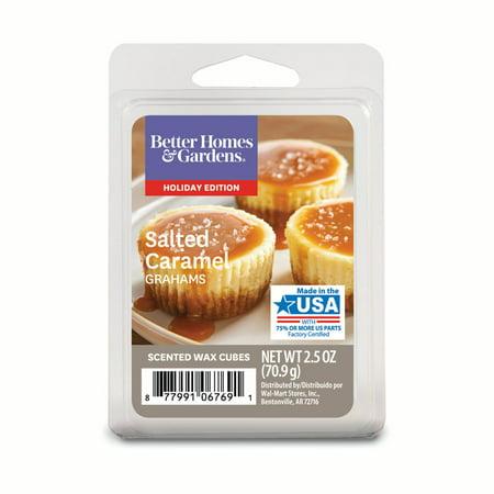 Better Homes & Gardens Salted Caramel Grahams Scented Wax Cubes