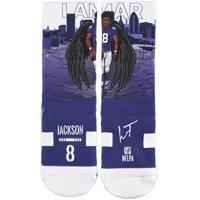 Lamar Jackson Baltimore Ravens Strideline Youth Superhero Socks