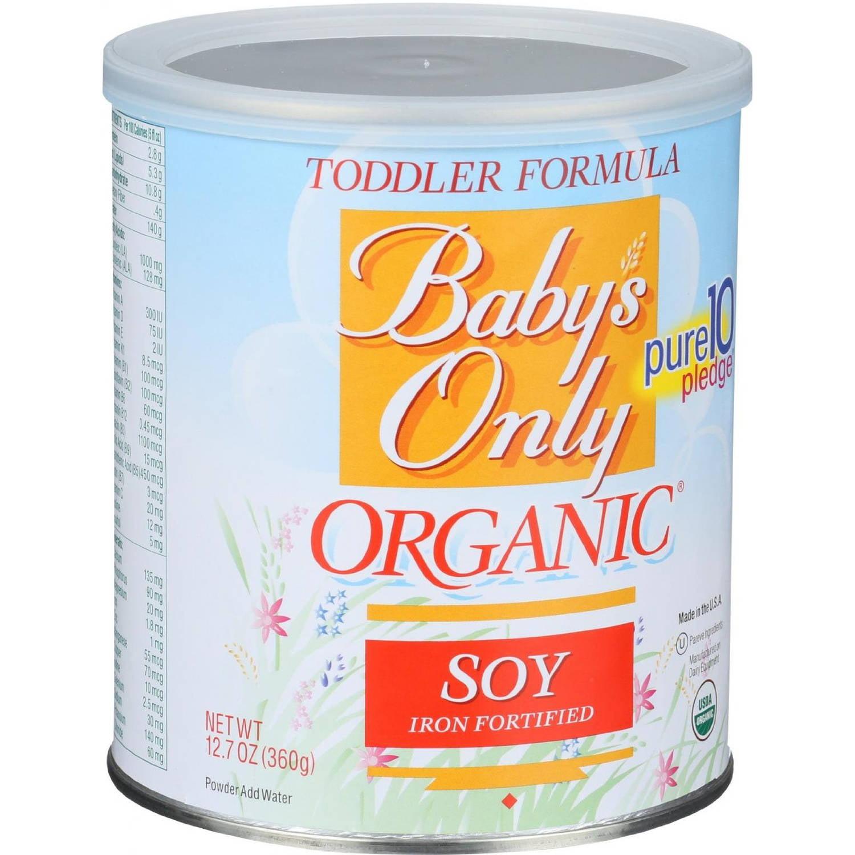 Baby S Only Organic Soy Organic Toddler Formula 12 7 Oz