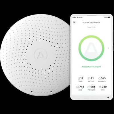 Airthings Wave Plus Smart Indoor Air Quality Monitor + Radon