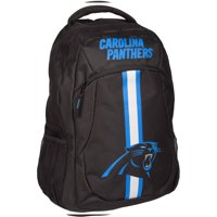 Forever Collectibles NFL Carolina Panthers Action Stripe Logo Backpack