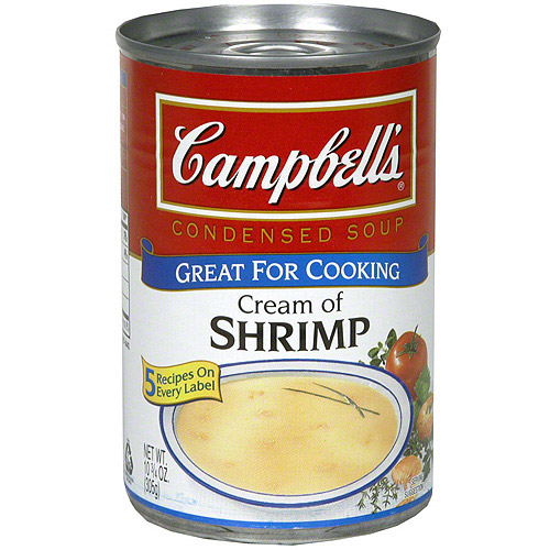 Campbell's Cream Of Shrimp Condensed Soup, 10.75 oz (Pack of 12)