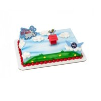 Product Image Wal Mart Bakery Peanuts Movie Flying Ace DecoSet