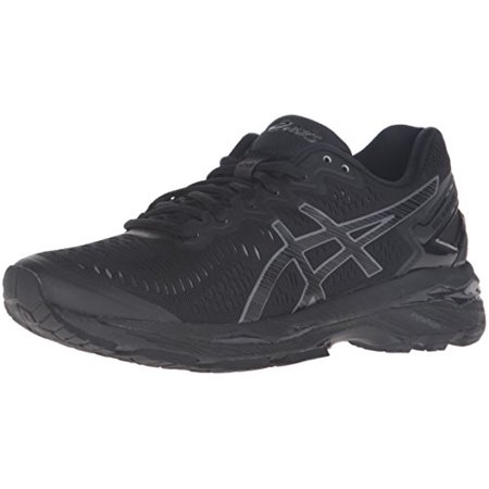 ASICS Women's Gel Kayano 23 Running Shoe (BlackOnyxCarbon, 8.5 B(M) US)
