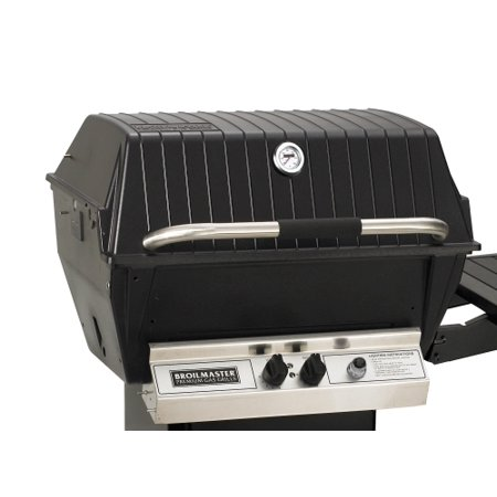 Broilmaster Cast Aluminum Series H Deluxe Propane Grill Head - Stainless Steel Grids (Cast Aluminum Gas Light)