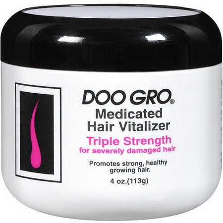 DOO GRO Hair Vitalizer Triple Strength for Damaged Hair, 4 fl (Products That Protect Hair From Heat Damage)