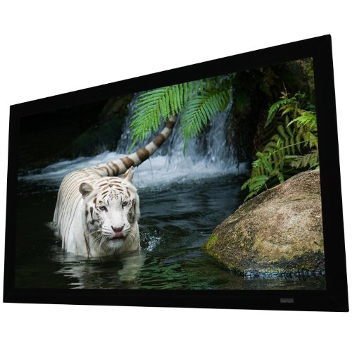 """EluneVision Reference Studio 4K Fixed Frame Projection Screen - 92"""" (80"""" x 45"""") Viewable - 16:9"""
