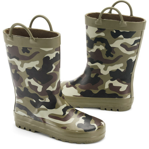 Toddler Kids' Firehose Camo Rain Boots