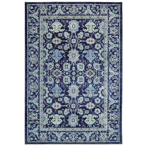 Karastan Pacifica Voltaire Indigo Area Rug by Mohawk Carpet Distribution LP