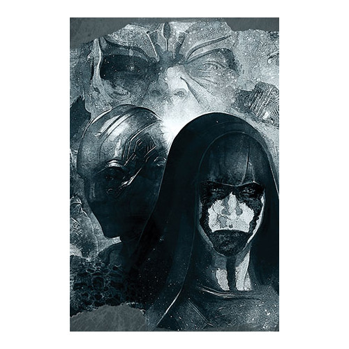 iCanvas Marvel Comics Ronan, Nebula & Thanos Movie Graphic Art on Canvas