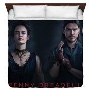 Penny Dreadful Chandler And Ives King Duvet Cover White 104X88