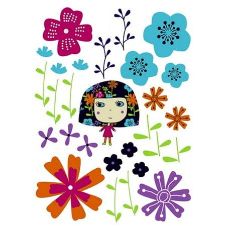 Contains A 19 x 27 Sheet Flowerine Decals - image 1 de 1