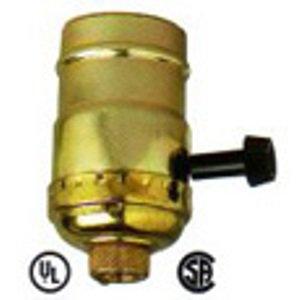 Three Way Socket - Replacement 3 Way Lamp Socket 22041
