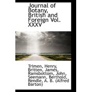 Journal of Botany, British and Foreign Vol. XXXV