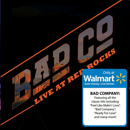 - Bad Company - Live At Red Rocks (Walmart Exclusive) (CD/DVD)