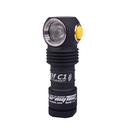 ArmyTek Elf C1 1050 Lumen Compact Micro USB Rechargeable (Performance Tactical Headlamp)