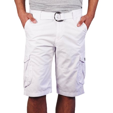 7c7ff20909 X-Ray Jeans - Garment Dyed Poplin Cargo Shorts from - Walmart.com