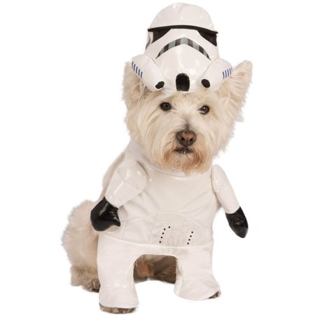 Star Wars Storm Trooper Pet Halloween Costume](Star Wars Pet Costumes For Dogs)