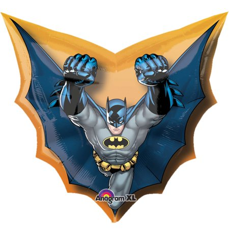 Batman Die Cut Mylar Balloon (Each) - Party - Balloon Cut Out
