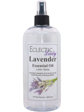 Lavender Essential Oil Linen Spray, 16 ounces