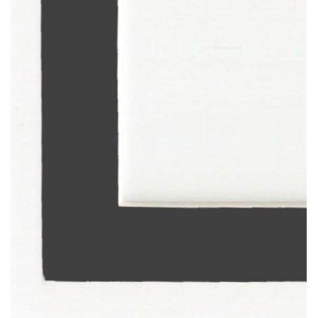 Charcoal - Dark Gray Acid Free Picture Frame Mat, 20x24 - Walmart.com