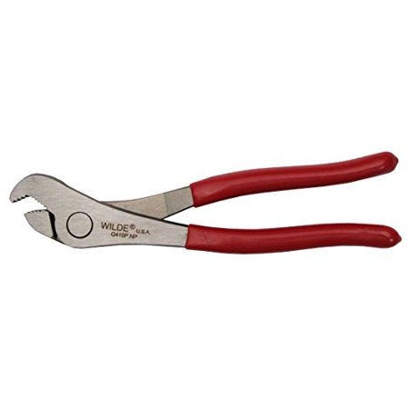 Wilde Tool G410P Battery Pliers, 7-1/2 inch with Polished Finish