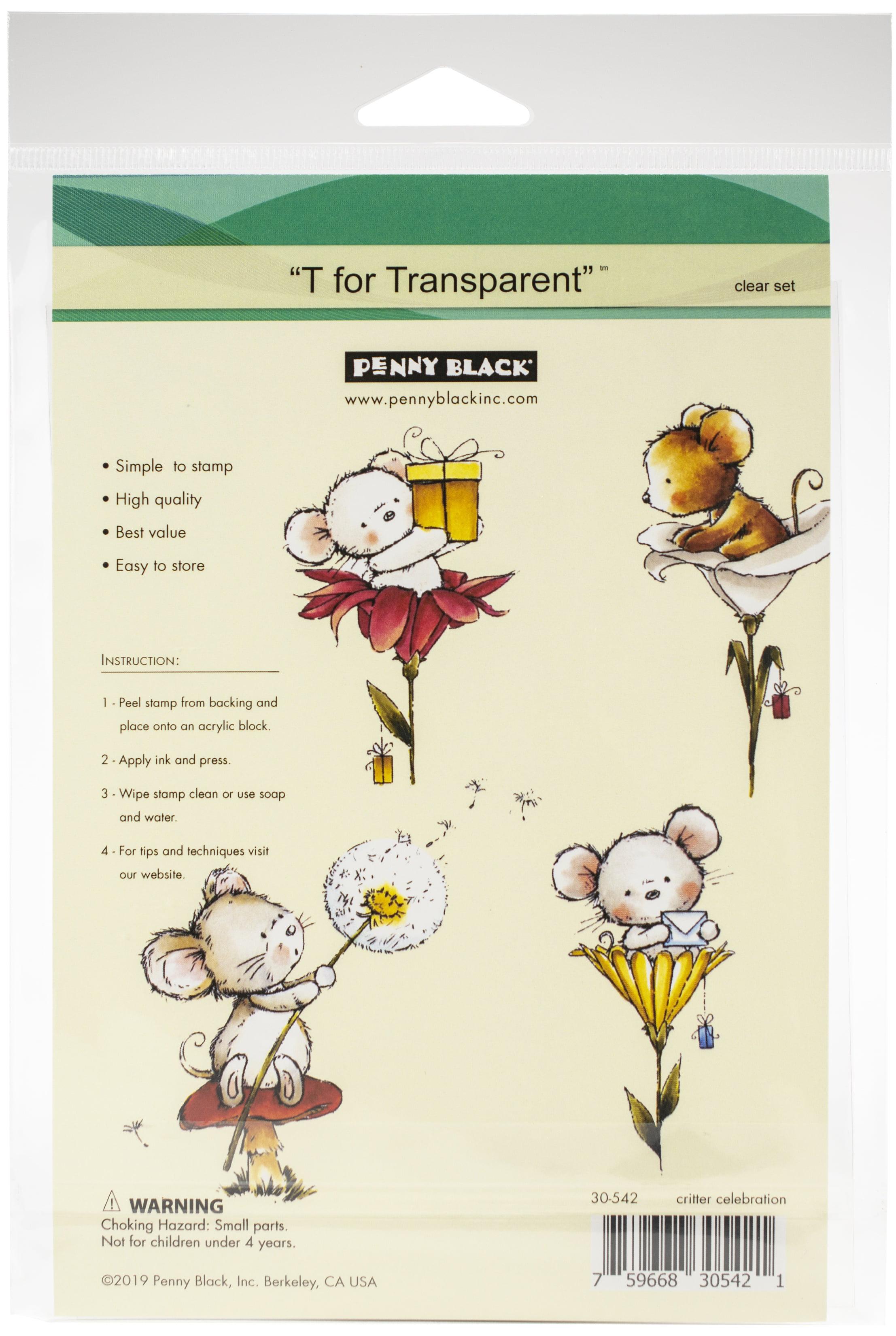Penny Black Clear Stamps-Critter Celebration
