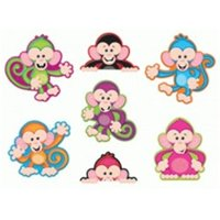 Color Monkeys Accents Standard Size- Variety Pack