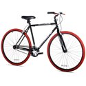 Kent 700c Thruster Fixie Men's Bike (Black/Red)