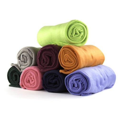 Imperial Home 24 Piece Ultra Soft Fleece Throw Blanket Set