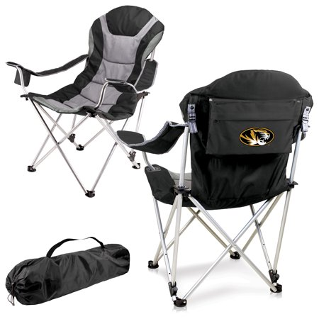 Missouri Tigers Reclining Camp Chair - Black - No Size Auburn Tigers Adult Chair