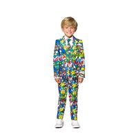 Blue and Yellow Super Mario Boys Suit - Large