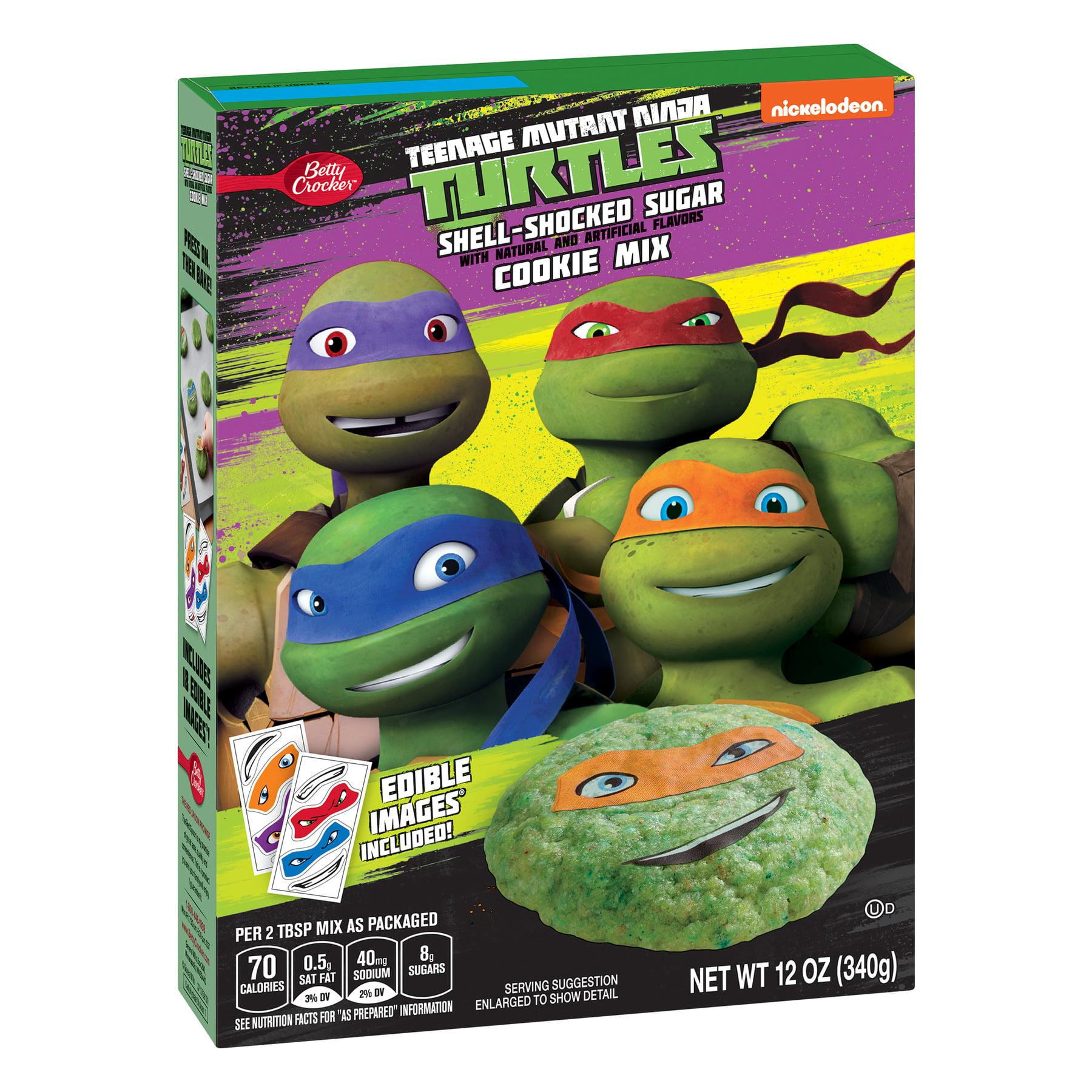Betty Crocker™ Teenage Mutant Ninja Turtle™ Shell Shocked Sugar