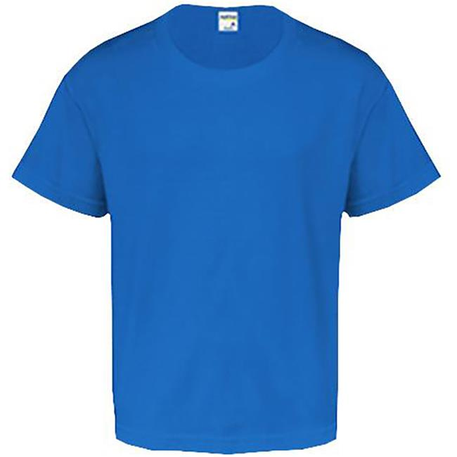 Youth Short Sleeve Tee - Royal - XL Case of 12 - image 1 de 1