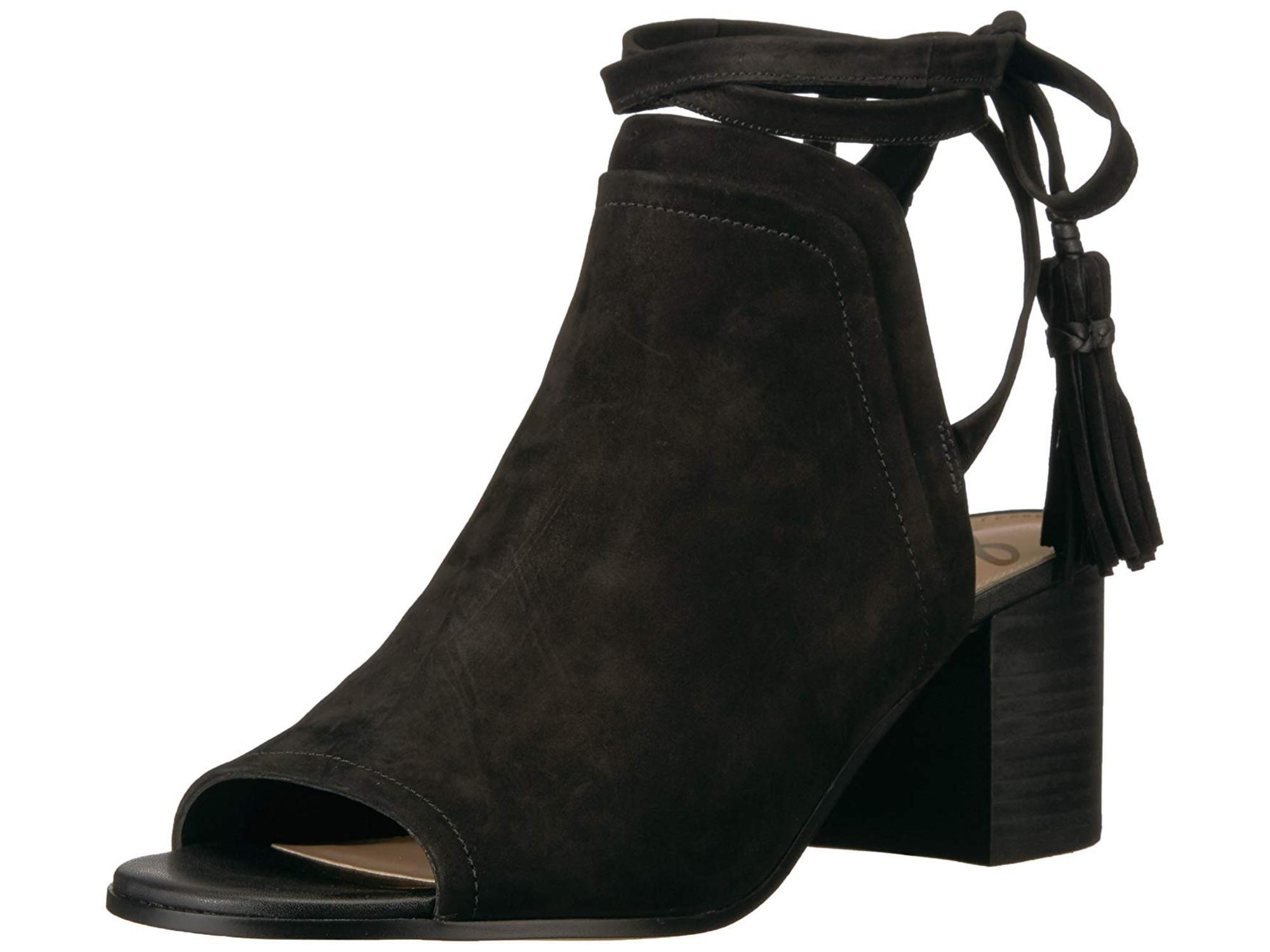 9e89febede27 Sam Edelman Womens Sampson Leather Open Toe Casual Strappy