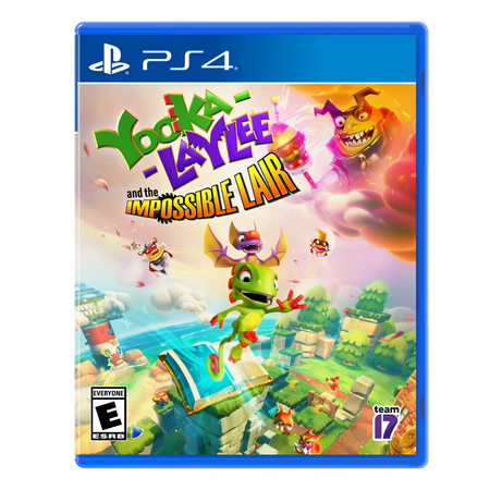 Yooka-Laylee: The Impossible Lair; Sold Out; PlayStation 4; 812303012945