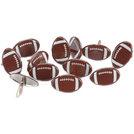 Eyelet Outlet Shape Brads 12/Pkg-Footballs - image 1 de 1